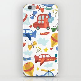 Kids Air Transportation iPhone Skin