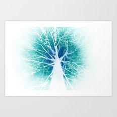 The tree of life (inverse) Art Print