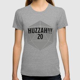 D20 Crit Huzzah T-shirt