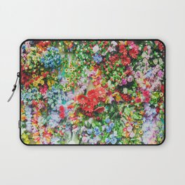 Colorful Flowers Laptop Sleeve