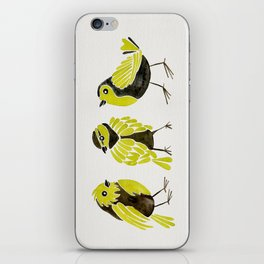 Goldfinches iPhone Skin