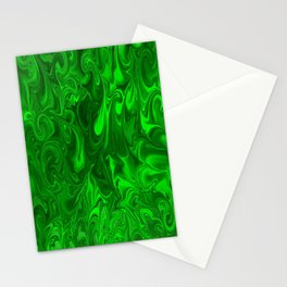 acid swirls  Stationery Cards