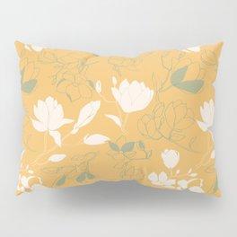 Magnolia flowers Pillow Sham