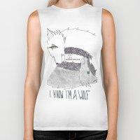 levi Biker Tanks featuring Wolf!Eren X Wolf!Levi by Midnight Zoe
