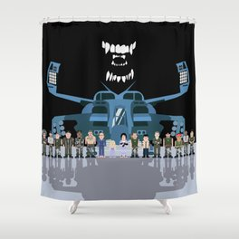USS Sulaco Crew  Shower Curtain