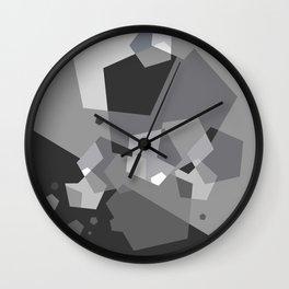 Grayish - Abstract #society6 #decor #buyart Wall Clock