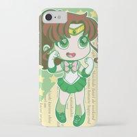 sailor jupiter iPhone & iPod Cases featuring Sailor Jupiter by strawberryquiche