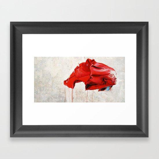 Antrwpos Framed Art Print