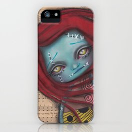 Something In The Wind iPhone Case