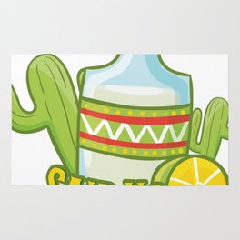 Tequila No Juan Ever Cinco De Mayo Party Rug