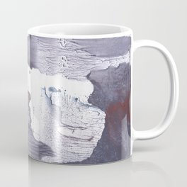Dark slate gray abstract watercolor Coffee Mug