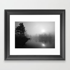 March Mist Framed Art Print