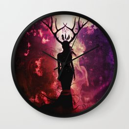 Deer Dreams Wall Clock