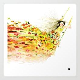 SWING ME Art Print
