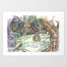 RHX Forest Logo Art Print