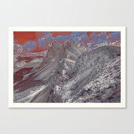 Dolomites Mountains Italy South Tyrol Alpine Canvas Print