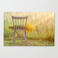 Remnants of a Summer Day Canvas Print
