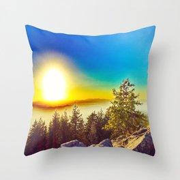 Oregon Wasteland Throw Pillow