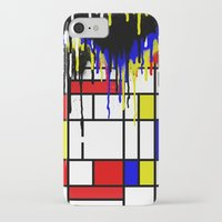 mondrian iPhone & iPod Cases featuring MONDRIAN by DIVIDUS