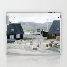 North Fishing Village Laptop & iPad Skin