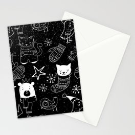 Merry Christmas - Simple X-mas Fun Doodle - Mix and Match with Simplicity of Life Stationery Cards