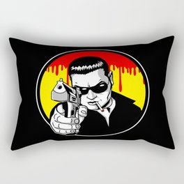 Pulp Criminal Rectangular Pillow