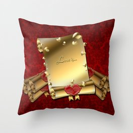 Love is... Throw Pillow