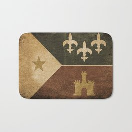 Acadian Flag Bath Mat