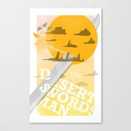 Desert Swordsman Canvas Print