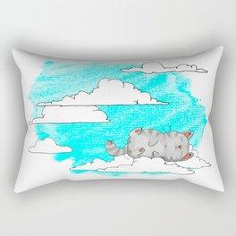 Sky Cat Rectangular Pillow