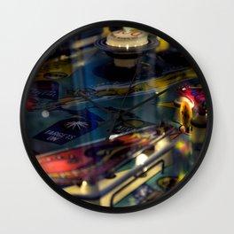 Pinball 3 Wall Clock