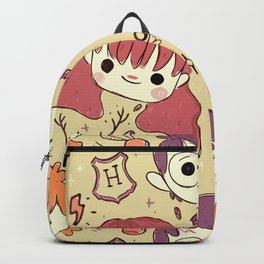 Harry Pattern Backpack