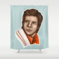 poe Shower Curtains featuring Poe Dameron by HayPaige