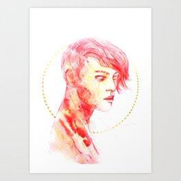 SUN (Old Version) Art Print