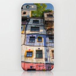 Hundertwasserhaus Vienne Autriche 3 iPhone Case
