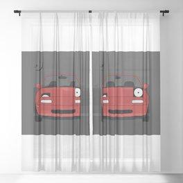 Miata ;) Sheer Curtain