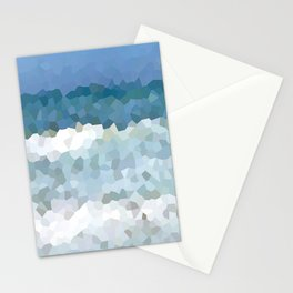 Design 133 Mosaic Ocean Stationery Cards