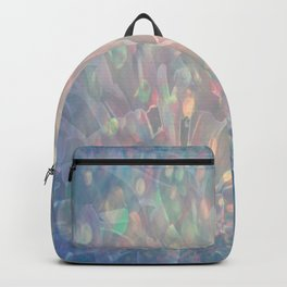 Sparkling Crystal Maze Abstract Backpack