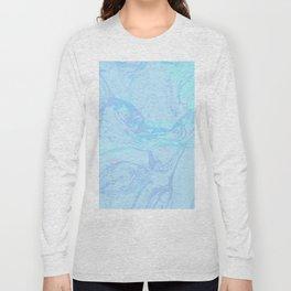Marble Fuzz Long Sleeve T-shirt