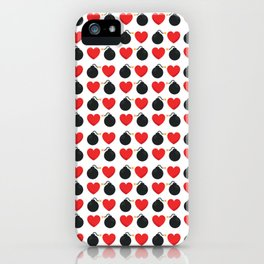 Two Bombs Together iPhone Case