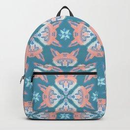 Pastel Fox Pattern Backpack