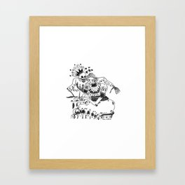 Its there Framed Art Print