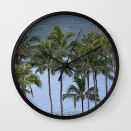 Kalapaki Bay Wall Clock