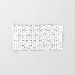 Bugs and insects Hand & Bath Towel