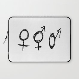 Symbol of Transgender 70 Laptop Sleeve