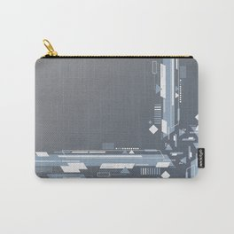 Abstract tech art Carry-All Pouch