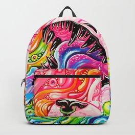 Glitterkitty - Acrylic Painting Backpack