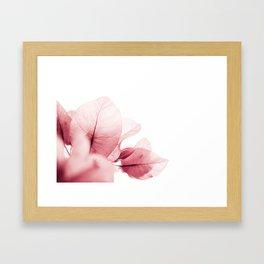 Flowers flash Framed Art Print