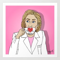 Hillary, By Popular Demand Art Print