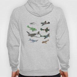 Multiple WW2 Airplanes Hoody
